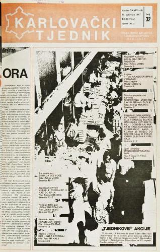 Karlovački tjednik: 1987 • 32