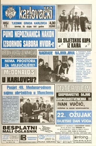 Karlovački tjednik: 1997 • 11