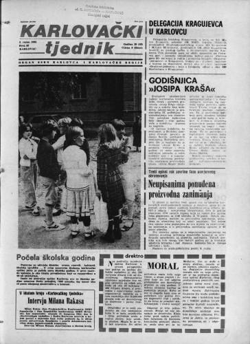 Karlovački tjednik: 1982 • 35