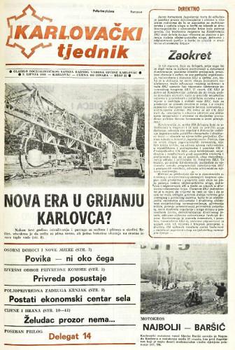 Karlovački tjednik: 1988 • 23