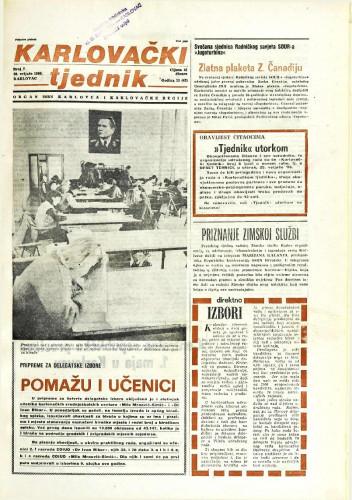 Karlovački tjednik: 1986 • 7
