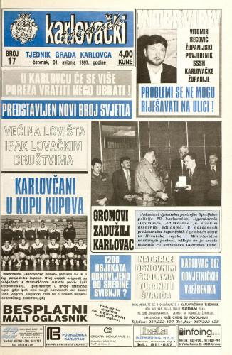 Karlovački tjednik: 1997 • 17