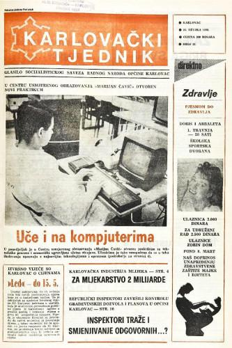 Karlovački tjednik: 1988 • 12