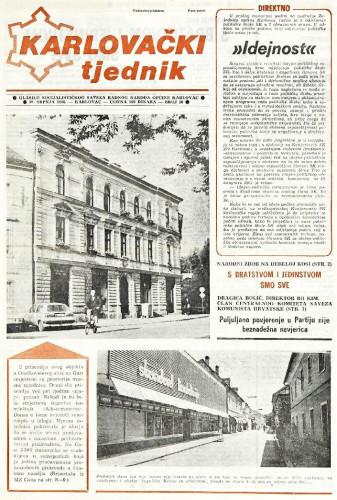 Karlovački tjednik: 1988 • 30