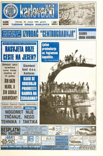 Karlovački tjednik: 1999 • 29
