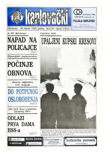 Karlovački tjednik: 1995 • 26