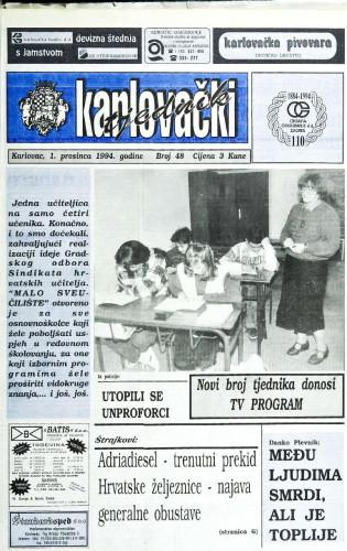 Karlovački tjednik: 1994 • 48