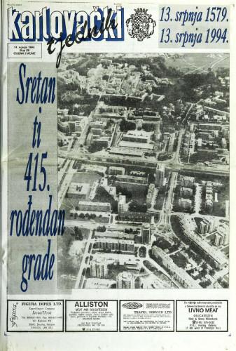 Karlovački tjednik: 1994 • 28