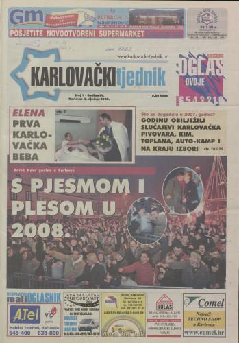 Karlovački tjednik: 2008 • 1
