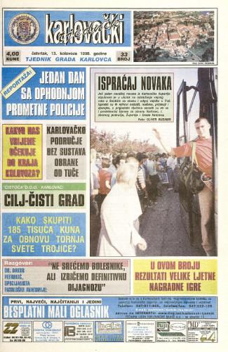 Karlovački tjednik: 1998 • 33
