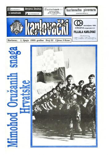 Karlovački tjednik: 1995 • 22