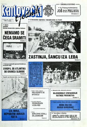 Karlovački tjednik: 1992 • 24