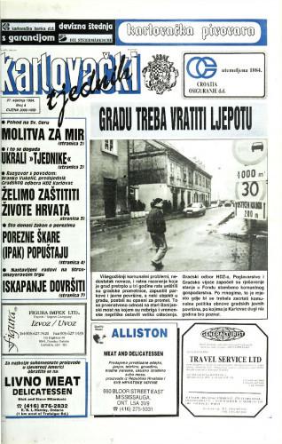 Karlovački tjednik: 1994 • 4
