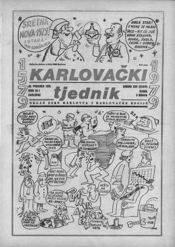 Karlovački tjednik: 1978 • 52