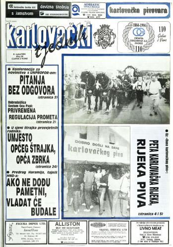 Karlovački tjednik: 1994 • 36