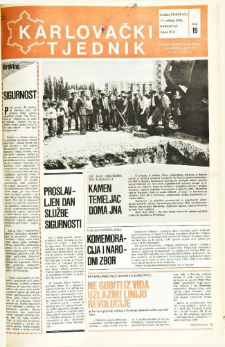 Karlovački tjednik: 1986 • 19