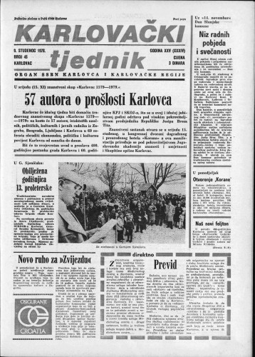 Karlovački tjednik: 1978 • 45