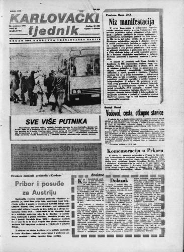 Karlovački tjednik: 1982 • 49