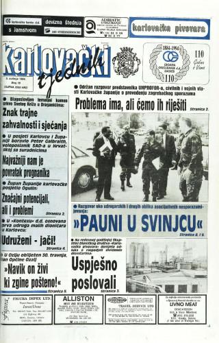 Karlovački tjednik: 1994 • 18