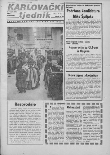 Karlovački tjednik: 1983 • 5