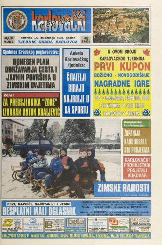 Karlovački tjednik: 1998 • 48