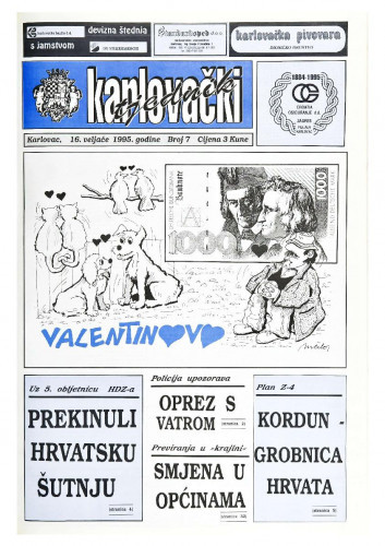 Karlovački tjednik: 1995 • 7