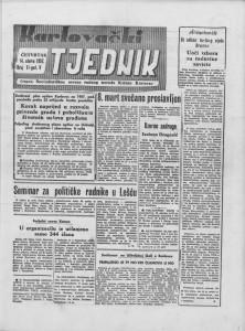 Karlovački tjednik: 1957 • 11