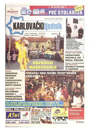 Karlovački tjednik: 2006 • 9