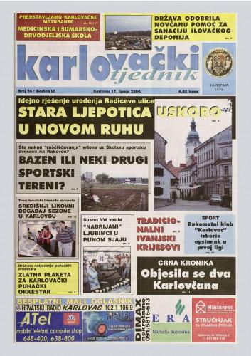 Karlovački tjednik: 2004 • 24