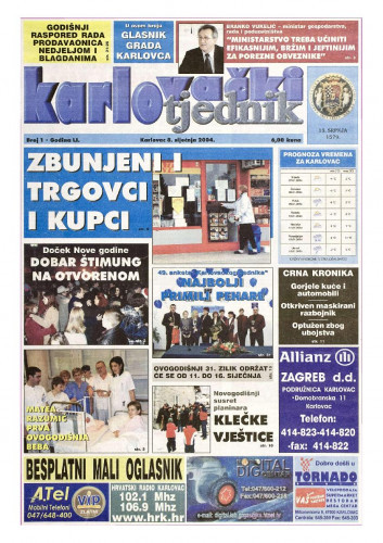 Karlovački tjednik: 2004 • 1