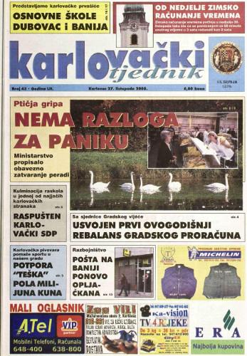 Karlovački tjednik: 2005 • 43
