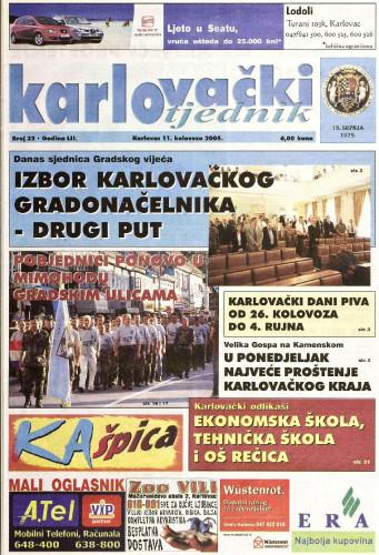 Karlovački tjednik: 2005 • 32