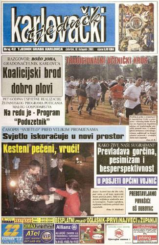 Karlovački tjednik: 2001 • 42