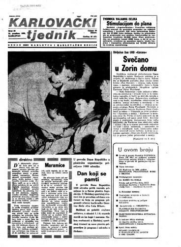Karlovački tjednik: 1985 • 49