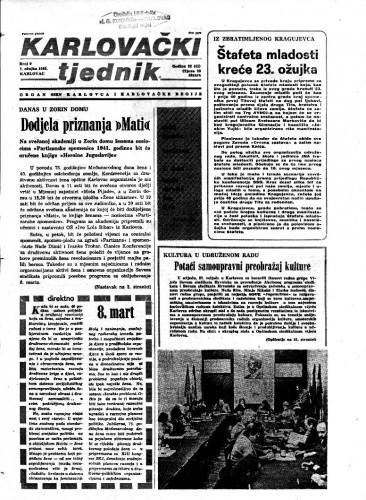 Karlovački tjednik: 1985 • 9