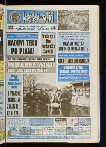 Karlovački tjednik: 1999 • 15