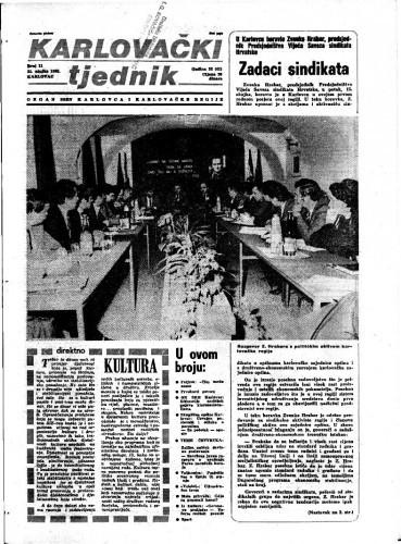 Karlovački tjednik: 1985 • 11