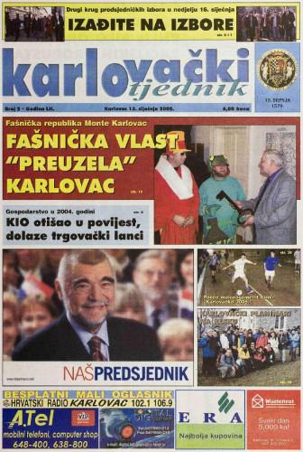 Karlovački tjednik: 2005 • 2