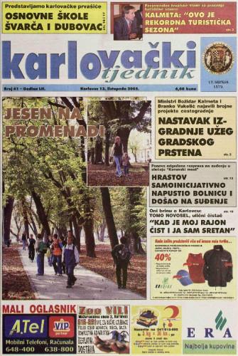 Karlovački tjednik: 2005 • 41
