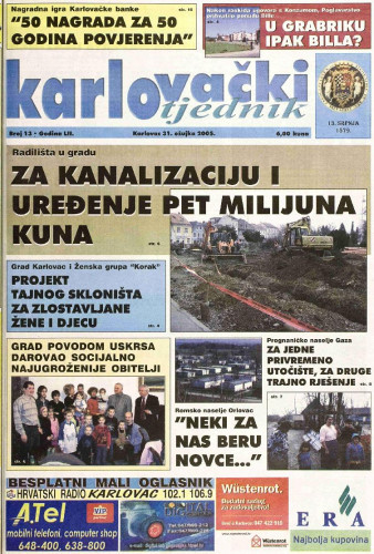 Karlovački tjednik: 2005 • 13