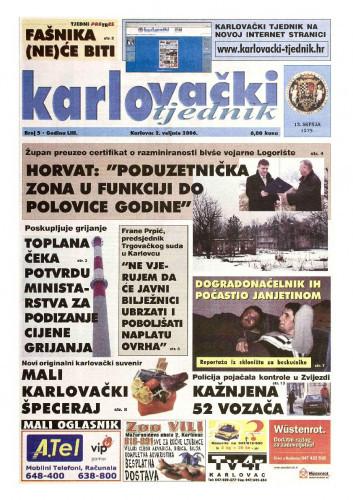 Karlovački tjednik: 2006 • 5