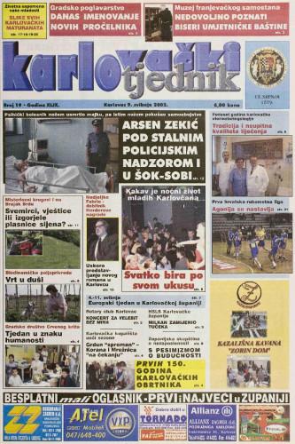 Karlovački tjednik: 2002 • 19
