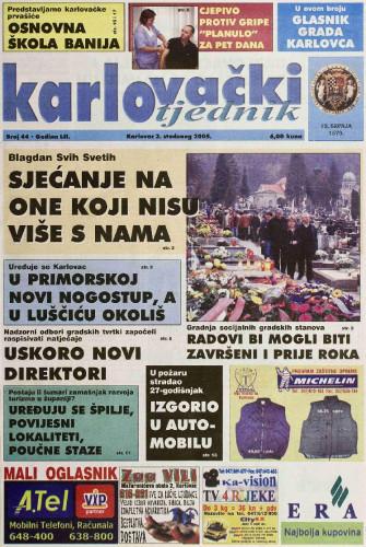 Karlovački tjednik: 2005 • 44
