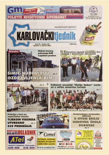 Karlovački tjednik: 2007 • 32