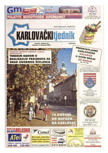 Karlovački tjednik: 2007 • 40