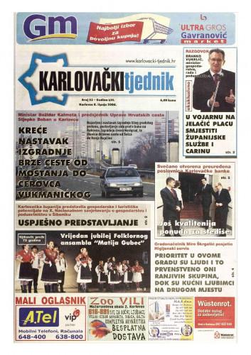 Karlovački tjednik: 2006 • 23