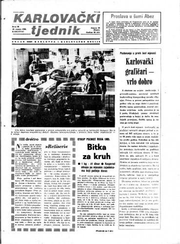 Karlovački tjednik: 1985 • 28