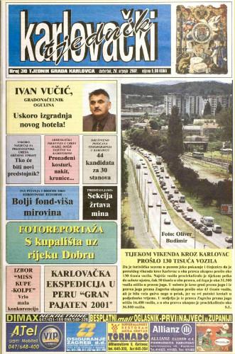 Karlovački tjednik: 1991 • 30