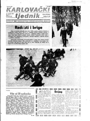 Karlovački tjednik: 1984 • 3