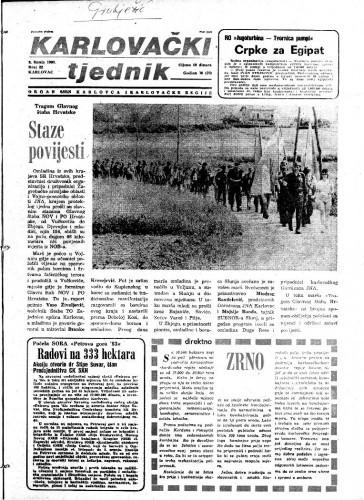 Karlovački tjednik: 1983 • 22